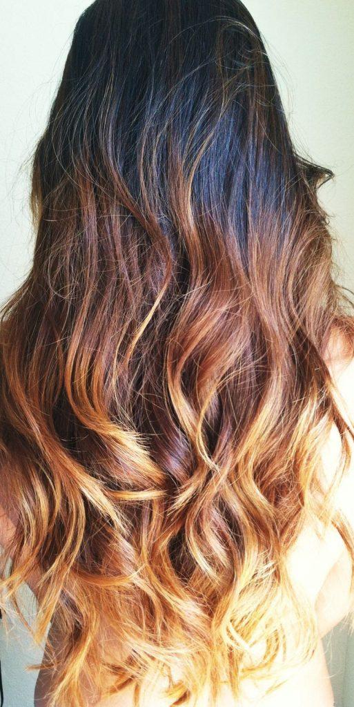 Denver Colorado Hair Glo Extensions ombre hair