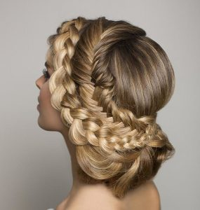 wedding hairstyles Glo Salon Denver