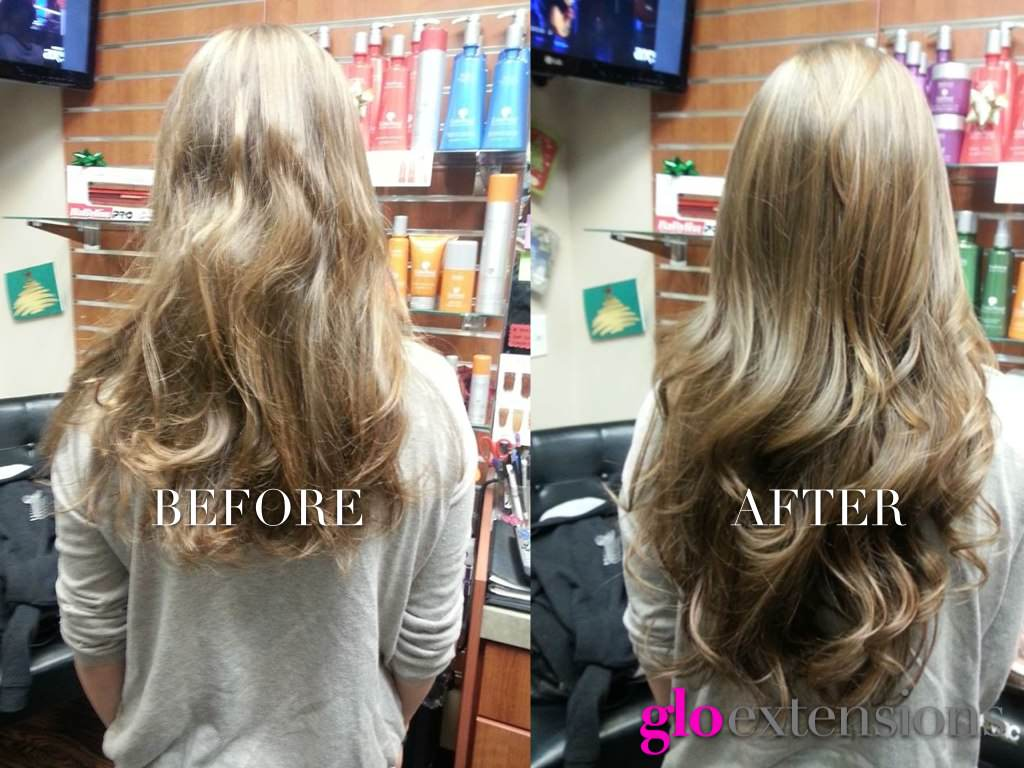Hair extension denver hair human wavy for 3 little birds salon