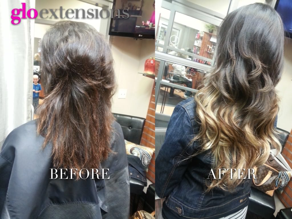 Hair extensions denver reviews glo hair salon before after 12001 pmusecretfo Image collections