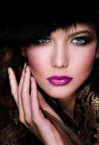 Holiday Party Makeup Trend - The Mysterious Madame