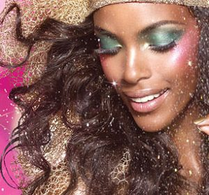 Holiday Party Makeup Trend - Gutsy Glitter Girl