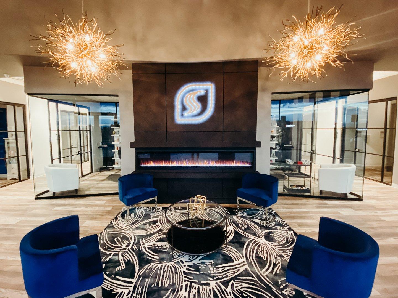 spectra salon suite lobby