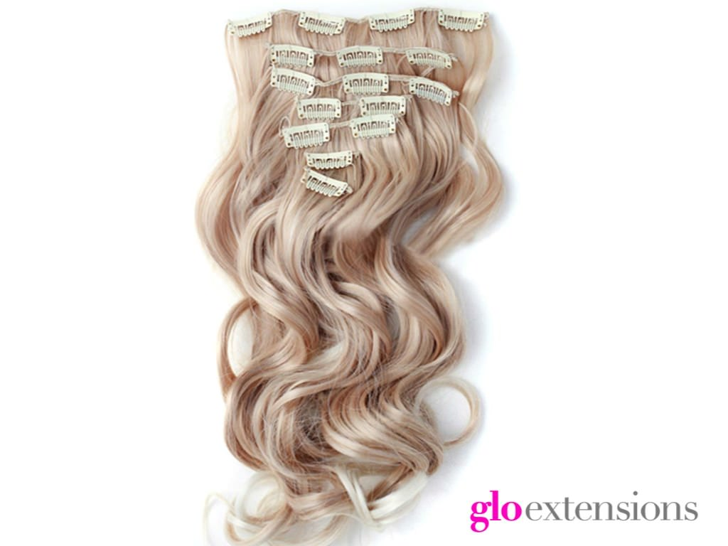 Clip-in Hair Extensions in Denver from Glo Salon