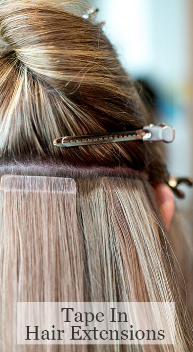 Tape in hair extensions denver hotheads hair extensions at glo pmusecretfo Image collections
