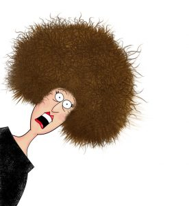 frizzy hair Glo Salon Denver