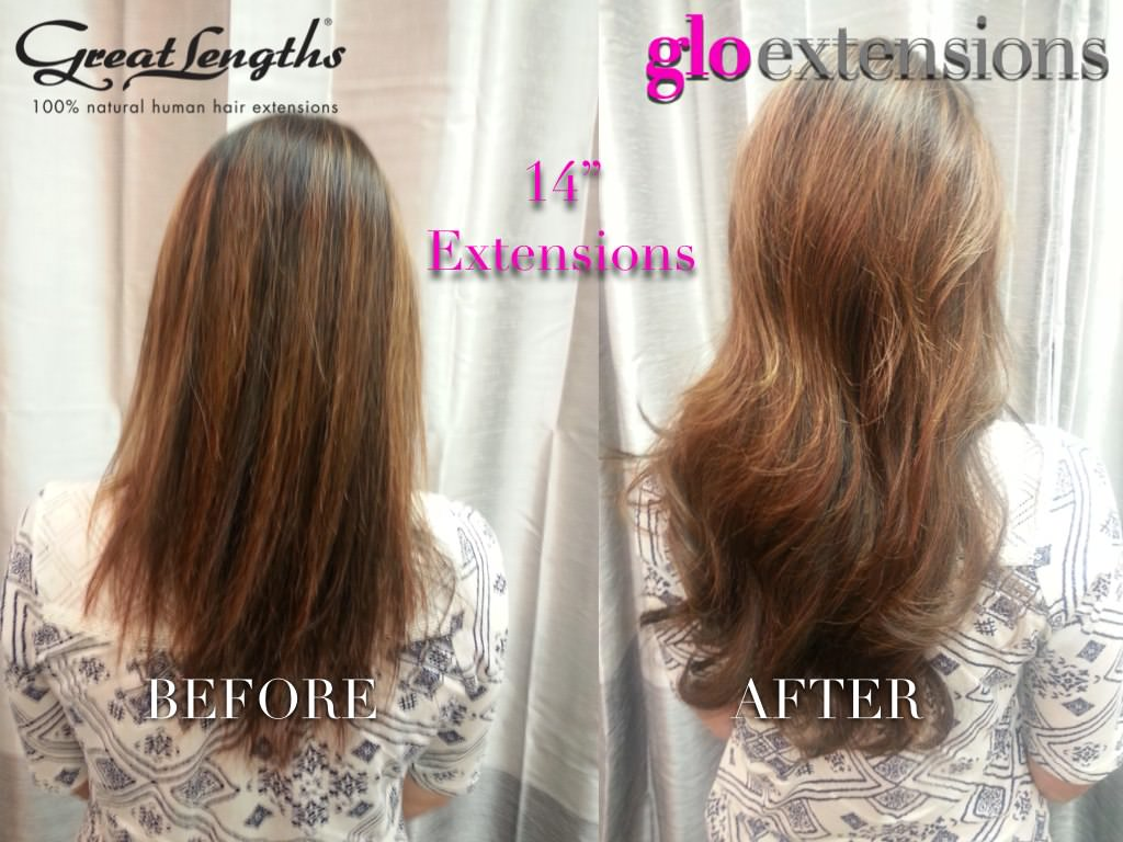 16 Inch Great Lengths Hair Extensions 120