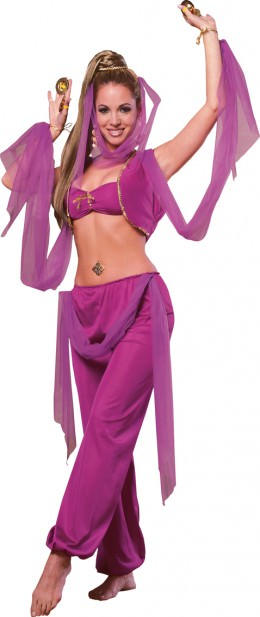 Halloween Hair Ideas: GENIE
