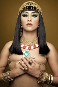Halloween Hair Ideas: CLEOPATRA