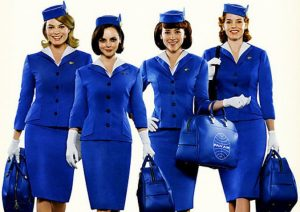 Halloween Hair Ideas: PAN AM STEWARDESS