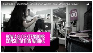 hair extensions consultation denver glo salon