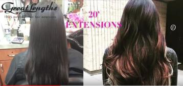 Great lengths hair extensions denver