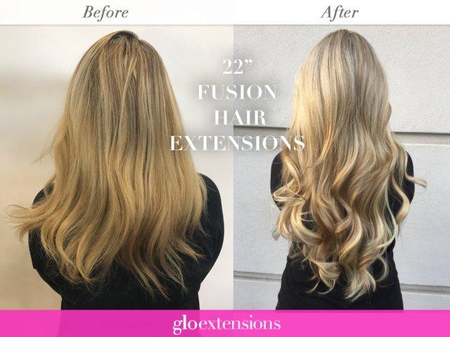 How Long do fusion hair extensions Last? - Glo Extensions Denver Salon