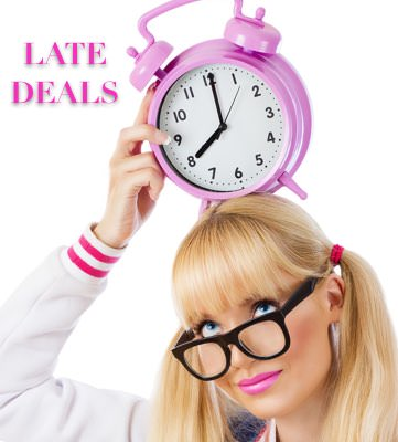 Grab an Open Appointment with Late Deals