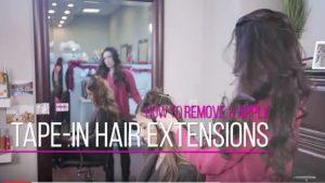 tape in hair extensions denver glo salon