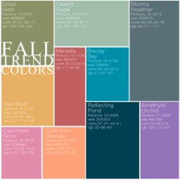 fall trend colors