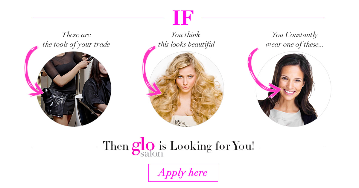 glo salon hiring