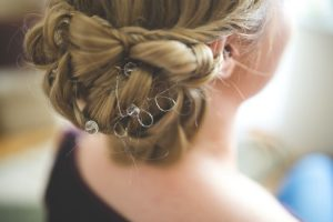 winter wedding hair
