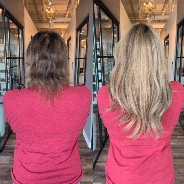 clip in topper hair extensions denver