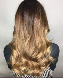 brunette balayage hair color Denver