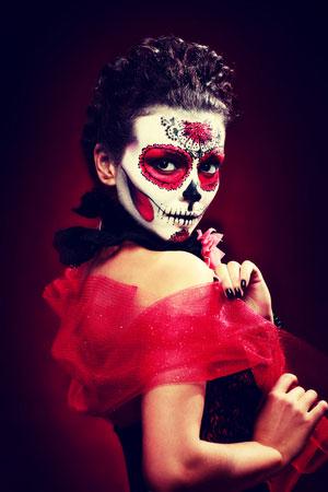 2017 Halloween Costume Hair and Makeup Ideas