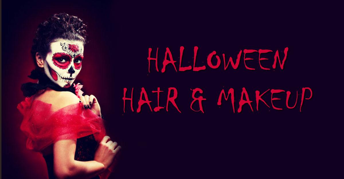 Halloween makeup ideas denver at Glo Salon
