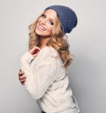 Winter hair cuts and hairstyles: Glo Extensions Winter Hair