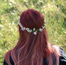 Denver Prom Hairstyle Looks 2017 - Flower Crown