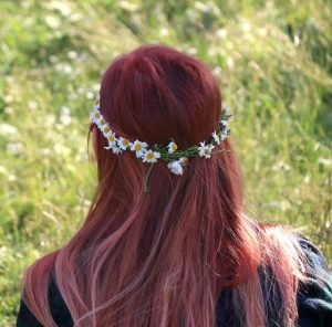 Denver Prom Hairstyle Looks 2017 - Flower Crown