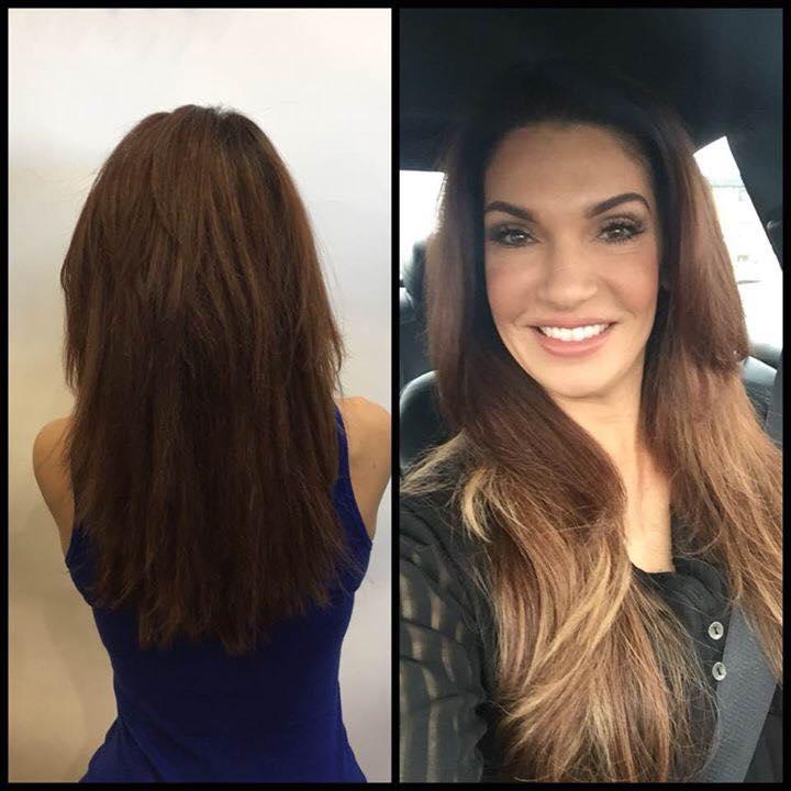 Spring Hair Color Transformation - Glo Extensions Denver