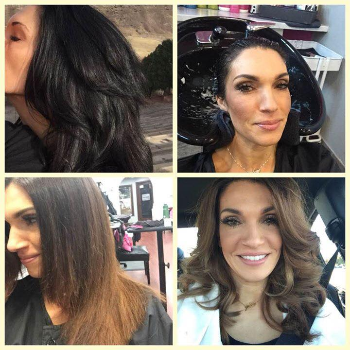 Spring Hair Color Transformation - Glo Extensions Denver