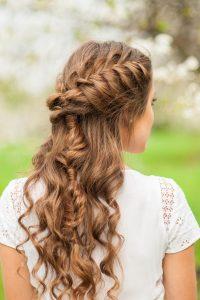 Denver Prom Hairstyle Looks 2017 - Mermaid Braids