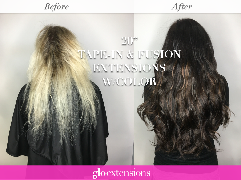 How long will my hair extensions last how long do tape in hair extensions last glo extensions denver salon pmusecretfo Image collections