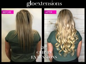 Clip In Hair Extensions - Glo Extensions Denver