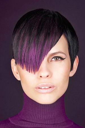 violet hair color denver