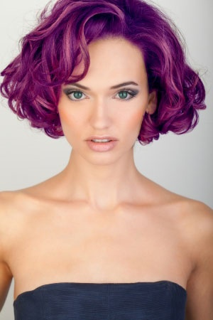 violet hair color denver