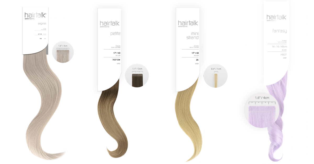 Hairtalk hotheads Tape in Hair Extensions Denver - Glo Extensions