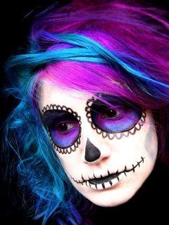 Halloween Hair & Makeup Ideas