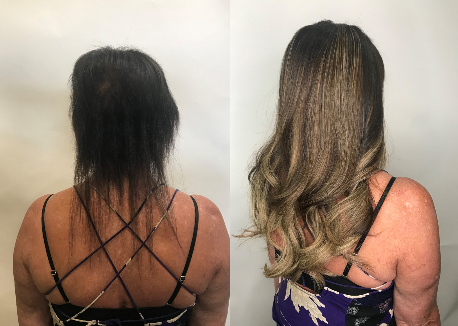 Hair Extensions for Thin and Thinning Hair or Hair Loss