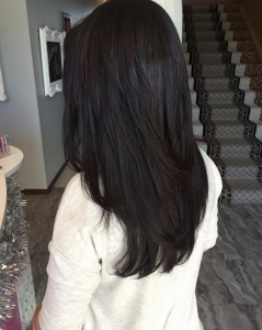brunette hair color experts Glo Salon Denver