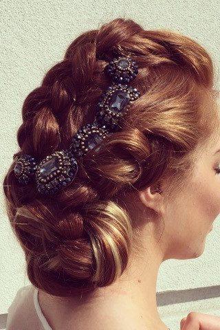 bridal hair wedding updo denver