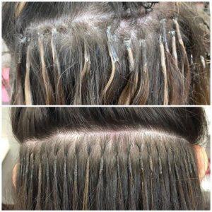 Hair extensions correction Denver