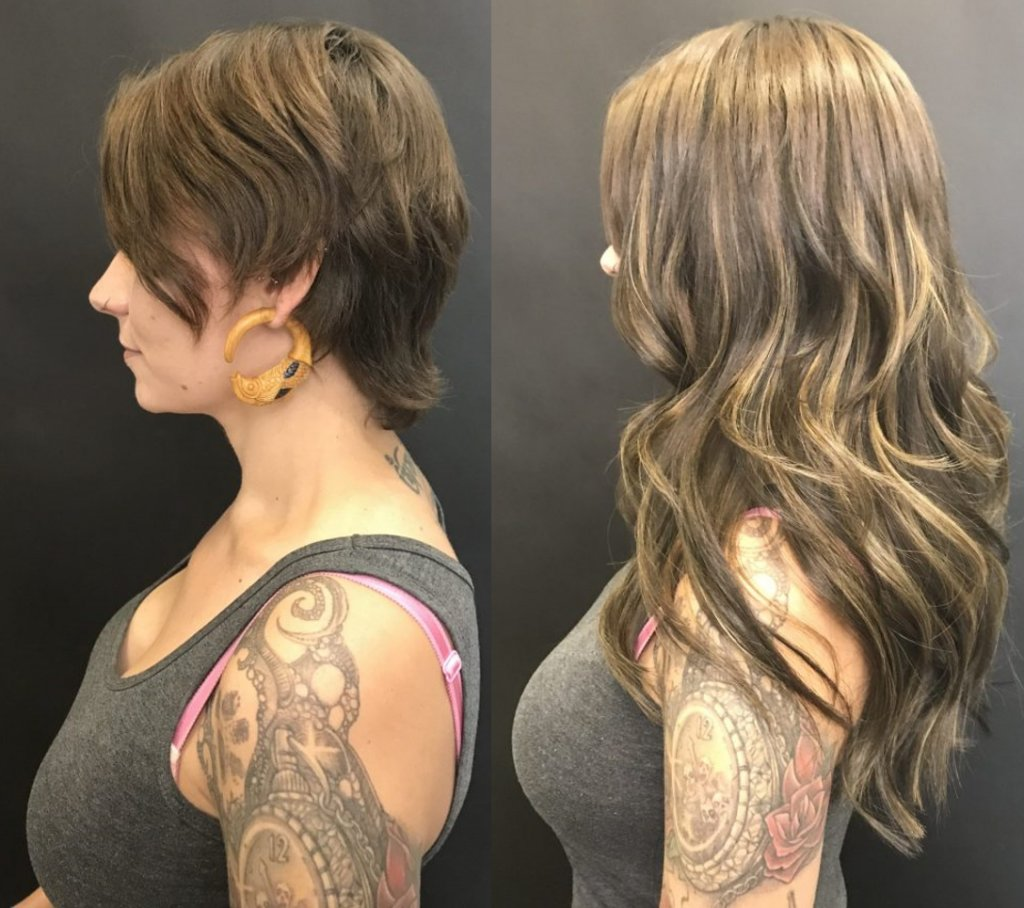"16"" Fusion Hair Extensions Denver"