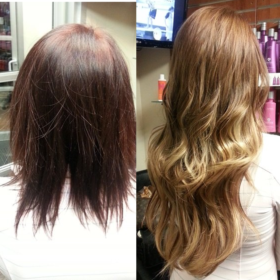 "16"" Tape-in Hair Extensions Denver"