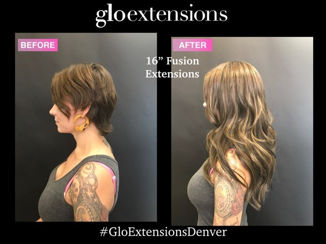16 great lengths fusion hair extensions denver 3