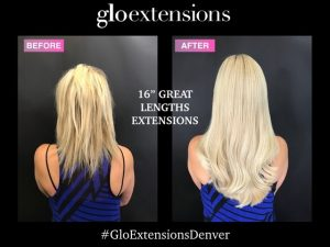 16 great lengths fusion hair extensions denver