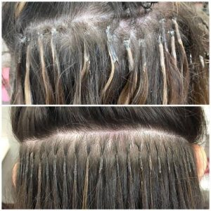 Hair extensions correction Denver