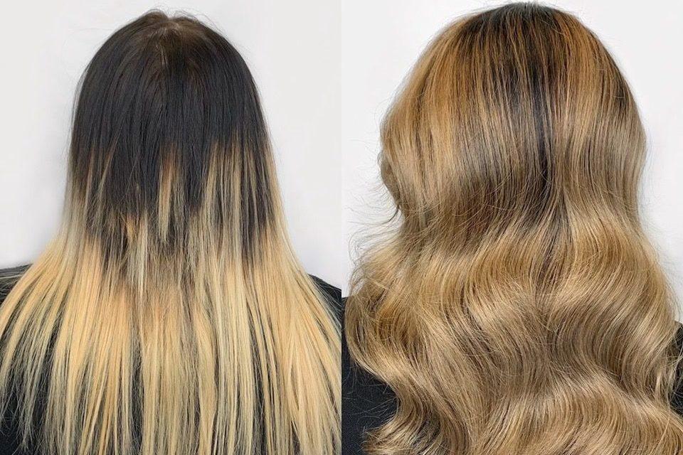 hair color correction denver Glo salon
