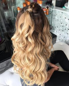 date night curls