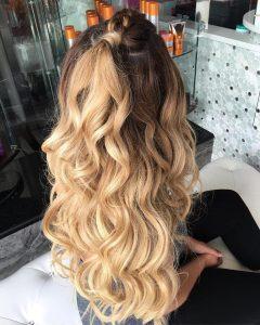 date night curls